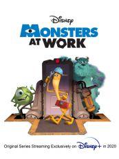《怪兽电力公司》和《怪兽大学》衍生动画片《怪兽上班》定档