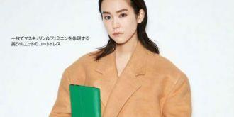 桐谷美玲登《25ans》 拍摄无性别时尚大片