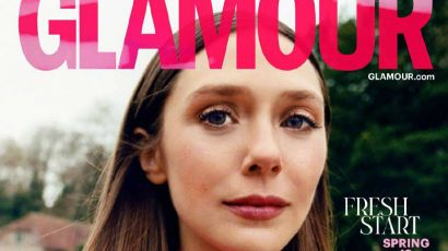 """""""旺达""""伊丽莎白·奥尔森登上英国《Glamour》4月号封面"""