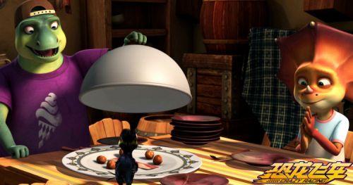 动画电影《恐龙飞车》开启全国点映讲述爱、亲情与梦想