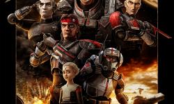 《星球大战:克隆人战争》衍生动画剧集 《星球大战:残次品》曝角色海报
