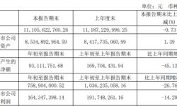 浙数文化2021年第一季度净利1.64亿下滑14.29% 投资收益减少