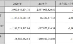 思美传媒2020年亏损11.54亿 整体毛利率下降