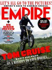 汤姆·克鲁斯携《碟中谍7》登上《帝国》2021年夏季刊封面