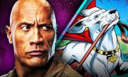 巨石强森加盟漫画电影《DC超级宠物》为超人狗狗配音