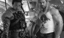克里斯·海姆斯沃斯晒片场照宣布漫威新片《雷神4》杀青