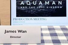 导演温子仁公布《海王2》全名为:《海王与失落的国度》