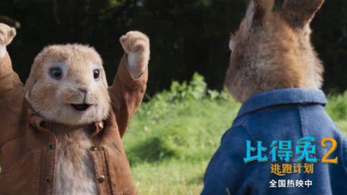 《比得兔2:逃跑计划》票房不断逆袭上座率居同档期新片第一