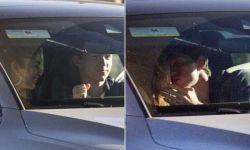 英国演员汤姆·赫兰德和赞达亚假戏真做  车内接吻被拍