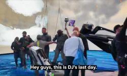 巨石强森发视频庆祝《黑亚当》杀青 给剧组成员抽奖