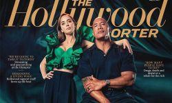 道恩·强森、艾米莉·布朗特登上《好莱坞报道者》新刊封面