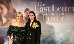 电影《爱人的最后一封情书》首映礼英国举行  菲丽希缇气质出众