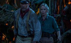 道恩·强森与艾米莉·布朗特主演电影《丛林奇航》北美票房夺冠