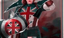 漫威动画剧集《假如》公布新海报  佩姬变英国队长