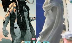 电影《雷神4》在马里布重新拍摄  反派屠神者造型曝光