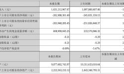 金一文化2021年半年度亏损2.03亿元 同比亏损减少17.43%