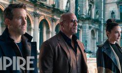 Netflix年度重磅大片《红色通缉令》发布新剧照