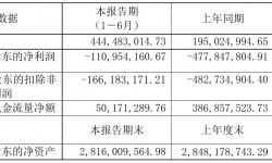 文投控股2021年半年度亏损1.11亿元 同比亏损减少