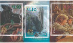 庆祝指环王电影20周年 新西兰邮政推出主题邮票