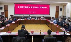 青海省文联召开文娱领域综合治理工作座谈会