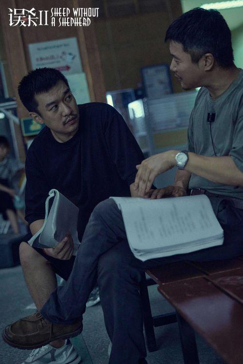 新銳導演戴墨攜手肖央拍攝《誤殺2》 現場討論劇情十分投入