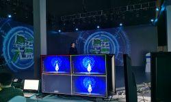 虛擬主持人亮相后,芒果TV帶著技術團隊走向臺前