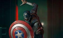 漫威新动画剧《假如…?》僵尸美国队长1/10雕像将于年底发售